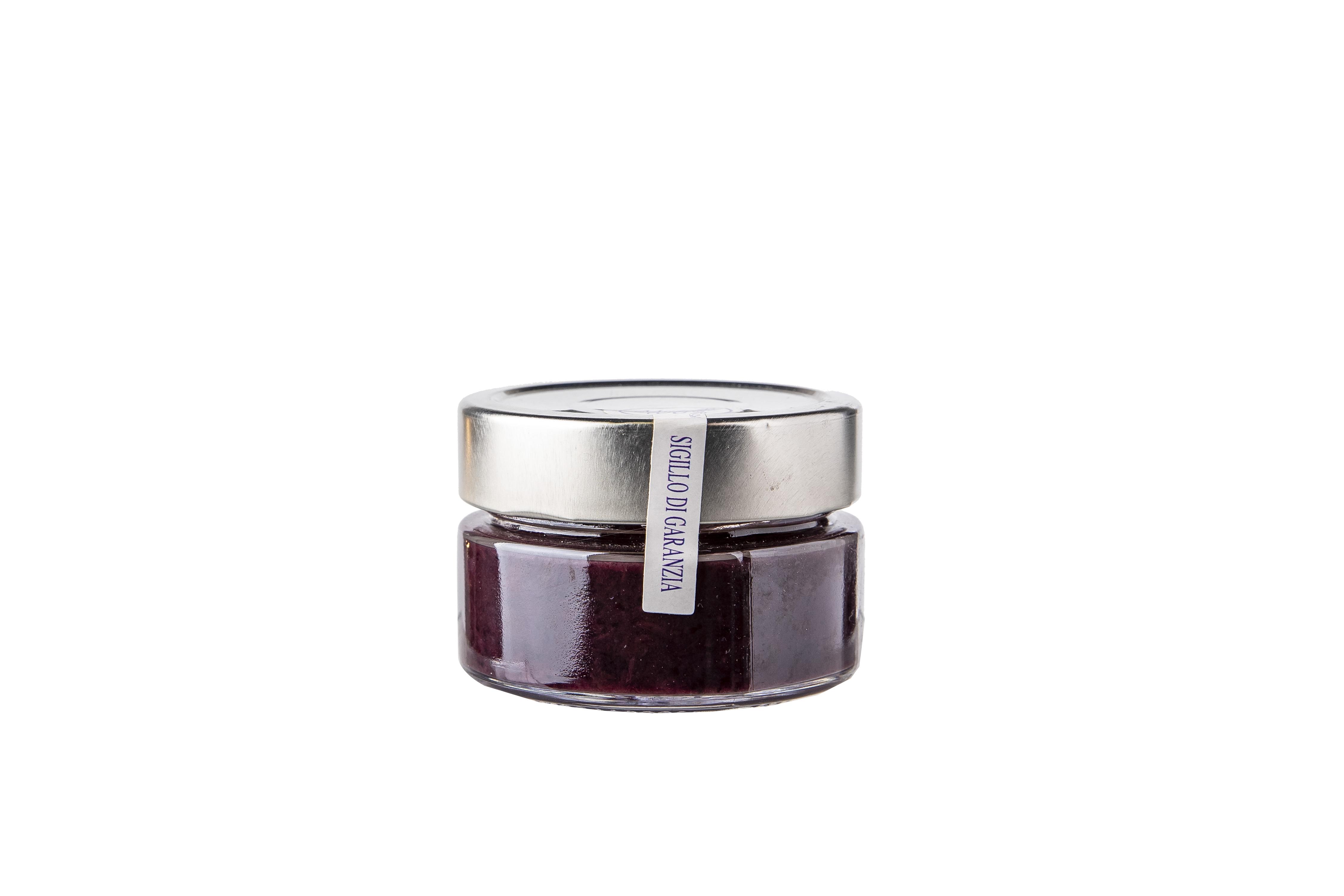 Confettura di mirtilli 100% senza zucchero 100gr