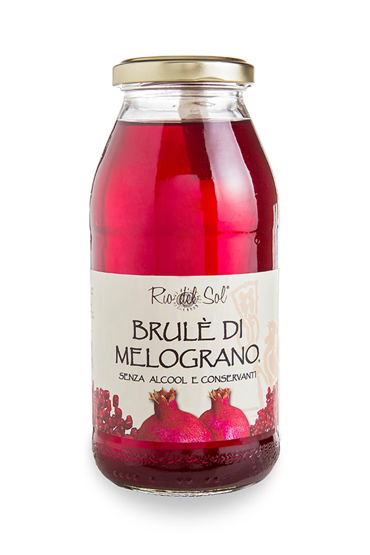 Brulè di Melograno analcolico 500 gr